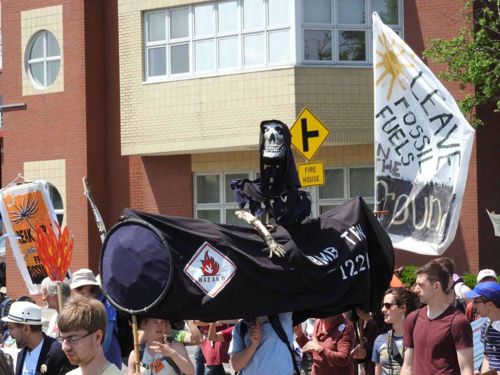 bomb train puppet